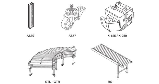 SIAT S26 - Voliteľná konfigurácia a príslušenstvo