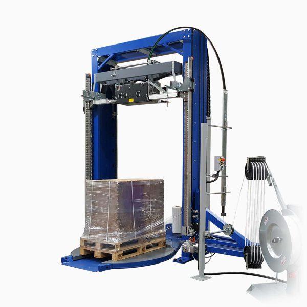 Plne automatický baliaci a páskovací stroj OMS 08/2TR 1400 HD