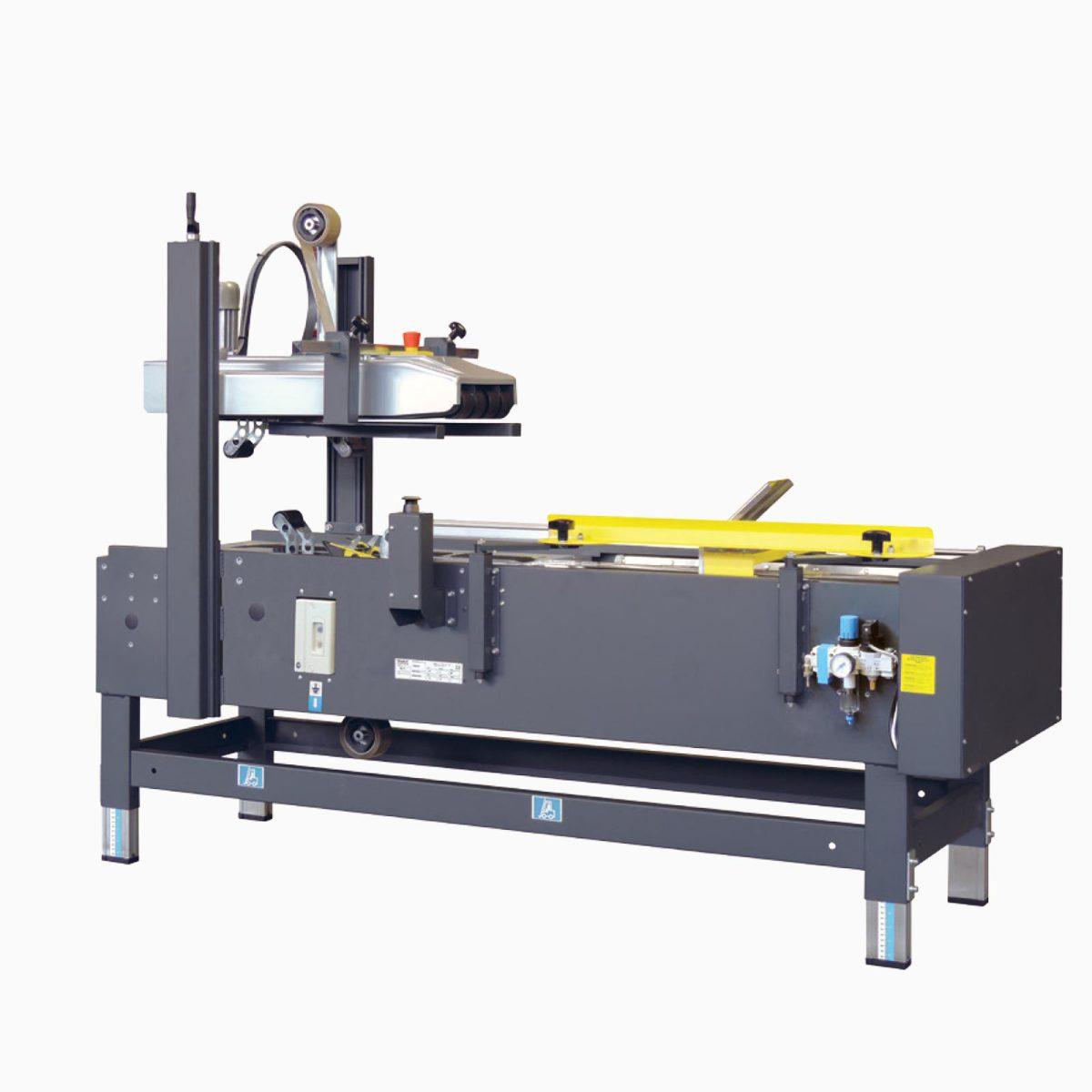 SIAT PS50T/B - Poloautomatická zalepovací stroj so skladačom kartónov